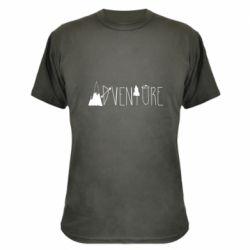 Камуфляжная футболка Trees and mountains