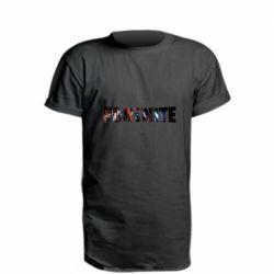 Удлиненная футболка Trellis in Fortnite logo