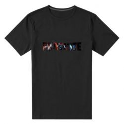 Мужская стрейчевая футболка Trellis in Fortnite logo