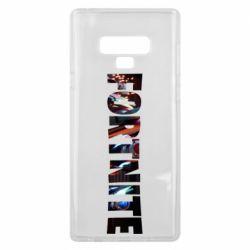 Чехол для Samsung Note 9 Trellis in Fortnite logo