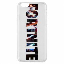 Чехол для iPhone 6/6S Trellis in Fortnite logo