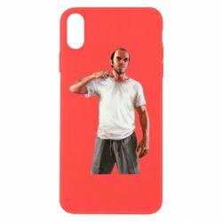 Чехол для iPhone Xs Max Trevor