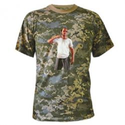 Камуфляжная футболка Trevor - FatLine