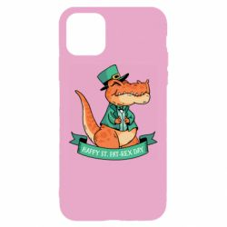 Чехол для iPhone 11 Trex patrick day