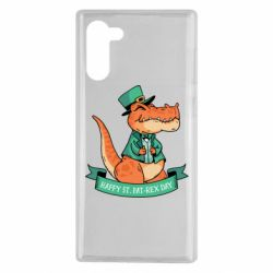 Чехол для Samsung Note 10 Trex patrick day