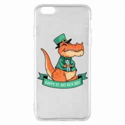 Чехол для iPhone 6 Plus/6S Plus Trex patrick day
