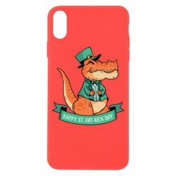 Чехол для iPhone X/Xs Trex patrick day
