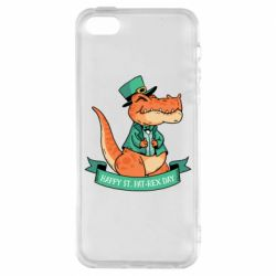 Чехол для iPhone5/5S/SE Trex patrick day