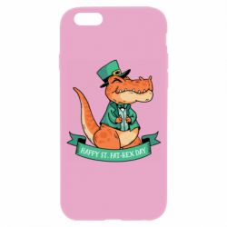 Чехол для iPhone 6/6S Trex patrick day