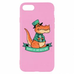 Чехол для iPhone 8 Trex patrick day