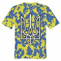 Чоловічі футболки 3D з принтом на тему  Герб України - купити в ... 217dfe7b8c86f