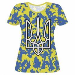 b3a77855c06ec2 Жіночі футболки 3D з українською символікою - купити в Києві, низька ...