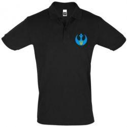 Мужская футболка поло Трезубец