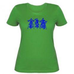 Женская футболка Три богатыря - FatLine