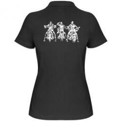 Женская футболка поло Три богатыря - FatLine