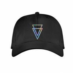 Детская кепка Triangles Голограмма