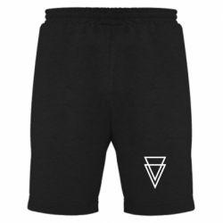 Мужские шорты Triangles