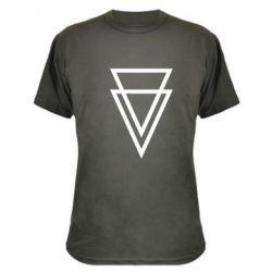 Камуфляжная футболка Triangles - FatLine