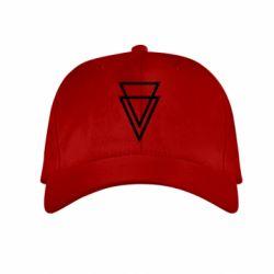 Детская кепка Triangles - FatLine