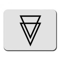 Коврик для мыши Triangles - FatLine
