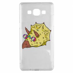 Чохол для Samsung A5 2015 Triceratops with glasses