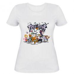 Женская футболка Trick or treat - FatLine