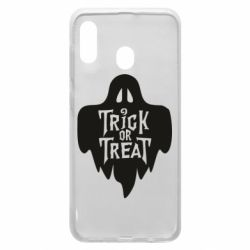 Чехол для Samsung A20 Trick or Treat