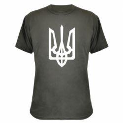 Камуфляжна футболка Trident with curved lines