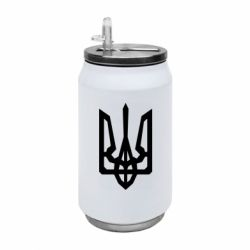 Термобанка 350ml Trident with curved lines