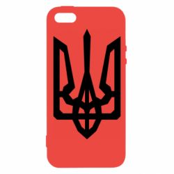 Чехол для iPhone5/5S/SE Trident with curved lines