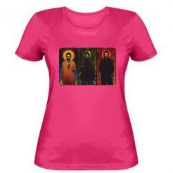 Женская футболка Трио Сверхъестественное - FatLine