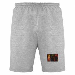 Мужские шорты Трио Сверхъестественное - FatLine
