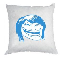 Подушка Trollface girl - FatLine
