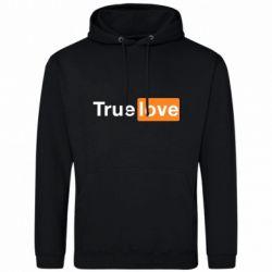 Мужская толстовка True love