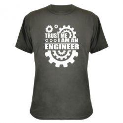Камуфляжная футболка Trust me, i am an engineer