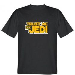 Мужская футболка Trust me, I'm a Jedi - FatLine