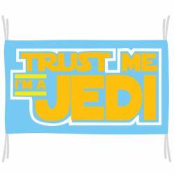 Флаг Trust me, I'm a Jedi