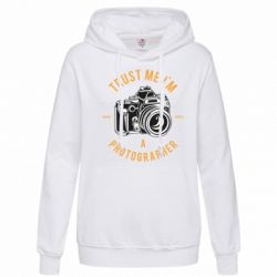 Толстовка жіноча Trust me i'm photographer