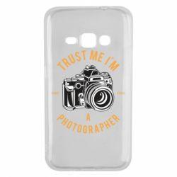 Чохол для Samsung J1 2016 Trust me i'm photographer