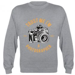 Реглан (світшот) Trust me i'm photographer