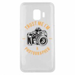 Чохол для Samsung J2 Core Trust me i'm photographer