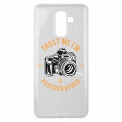 Чохол для Samsung J8 2018 Trust me i'm photographer