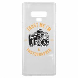 Чохол для Samsung Note 9 Trust me i'm photographer