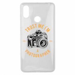 Чохол для Xiaomi Mi Max 3 Trust me i'm photographer