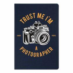 Блокнот А5 Trust me i'm photographer