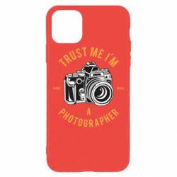 Чохол для iPhone 11 Pro Trust me i'm photographer