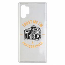 Чохол для Samsung Note 10 Plus Trust me i'm photographer