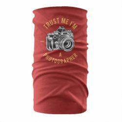 Бандана-труба Trust me i'm photographer
