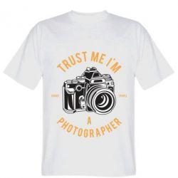 Чоловіча футболка Trust me i'm photographer