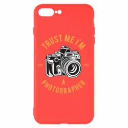 Чохол для iPhone 8 Plus Trust me i'm photographer